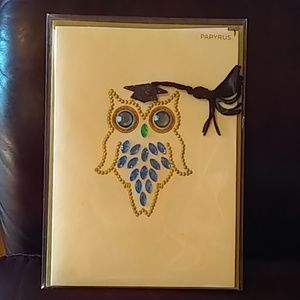 Papyrus Party Supplies - 🦉 Owl Graduation Card from Papyrus